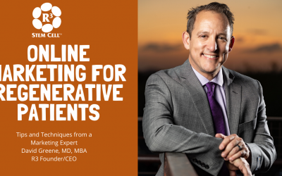 Online Marketing for Regenerative Patients
